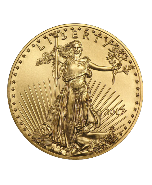 american eagle 1/2 oz or revers