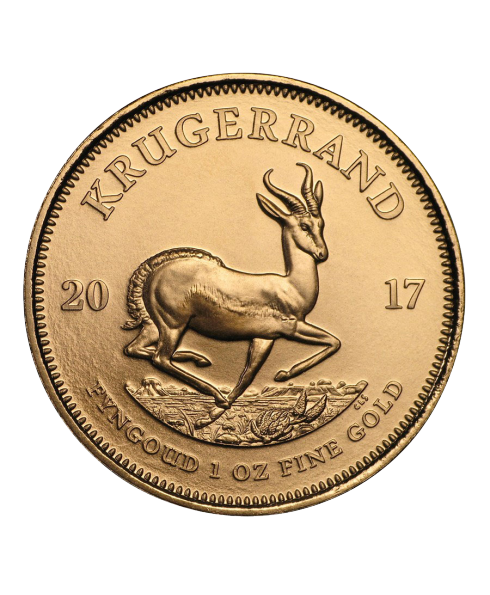 once d'or Krugerrand revers