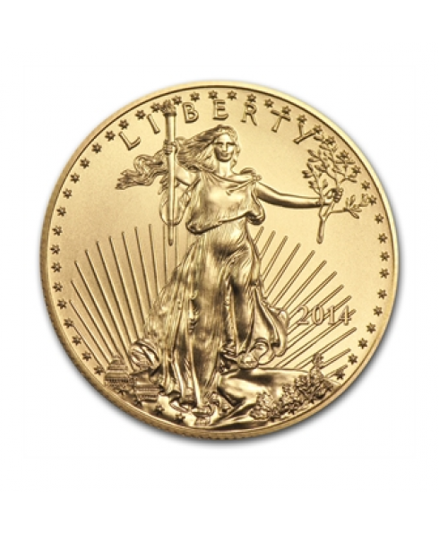 American Eagle or 1/2 oz 2016 - pièce d'or