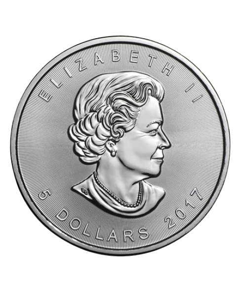 Maple Leaf 1 oz argent 2019