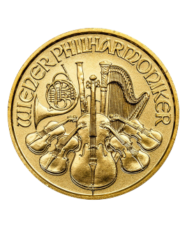Philharmonic or 1/10 oz 2018 - pièce d'or