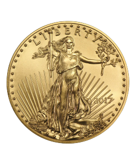 American Eagle 1/4 oz or 2017 - pièce d'or
