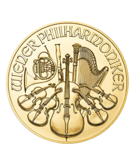 Philharmonic 1 oz or 2018 - pièce d'or