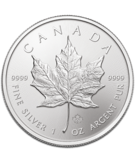 Maple Leaf 1 once argent 2017