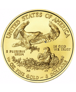 American Eagle or 1/10 oz 2017 - pièce d'or
