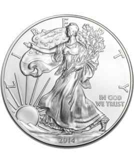 Silver Eagle 1 once argent 2017