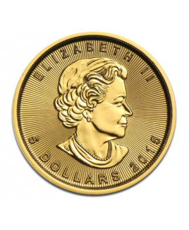 Maple Leaf or 1/10oz 2016 - pièce d'or