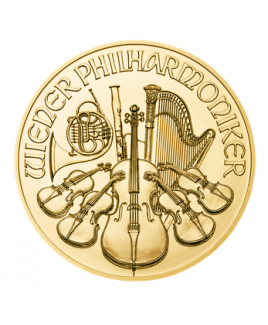Philharmonic or 1/2 oz 2017 - pièce d'or