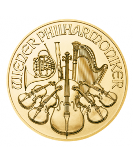 Philharmonic or 1/4oz 2017 - pièce d'or