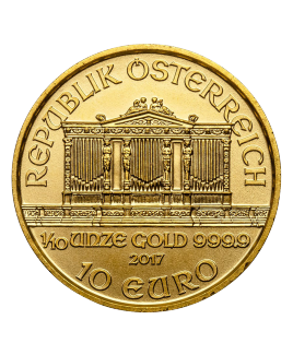 Philharmonic or 1/10 oz 2019 - pièce d'or