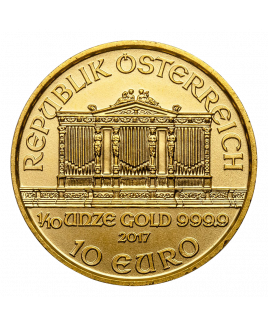 Philharmonic or 1/10 oz 2020 - pièce d'or
