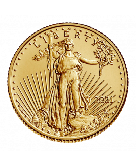 American Eagle 1/10 oz or 2021 type 2