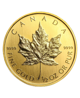 Maple Leaf 1/2 oz or 2018