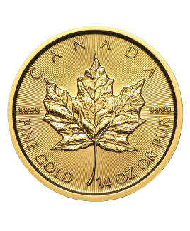 Maple Leaf 1/4 oz or 2018
