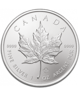 Maple Leaf 1 once argent 2016