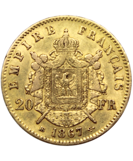 20 francs napoléon or