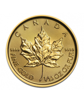 Maple Leaf or 1/10oz 2017 - pièce d'or