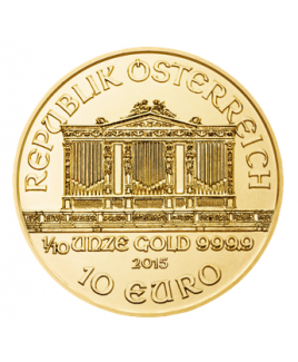 Philharmonic or 1/10 oz 2017 - pièce d'or