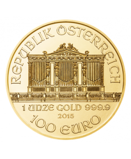 Philharmonic or 1 oz 2017 - pièce d'or