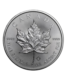 Maple Leaf 1 oz argent 2018