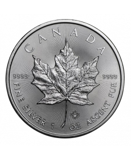 Maple Leaf 1 oz argent 2020